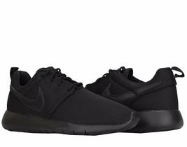 Nike Roshe GS 599728-031 Black Junior Boy shoes - $64.95