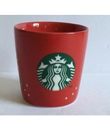 Starbucks 2013 Red Christmas Holiday Espresso Tasters  Shot Glass Cup 3... - $13.29