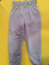 New Rawlings baseball softball T-ball pants Youth small gray sports - $5.99