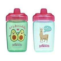 Dr. Brown's Milestones Hard Spout Sippy Cup, 12 Ounce, Pink, 2 Count - $9.33