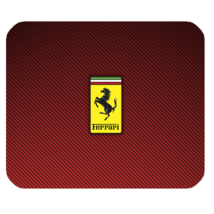 Mouse Pad Ferrari Logo Luxury Italian Car Sports Red Design For Game Anime - €5,28 EUR