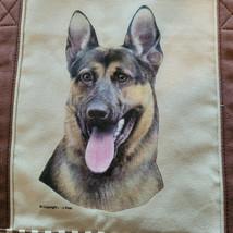 German Sheperd Dog Canvas Tote Bag Pet Shopping Purse Beach Diaper Puppy... - $29.58