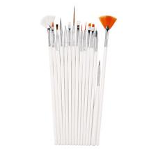 BAHYHAQ- 15PCS Nail Art Design Painting Dotting Detailing Pen Brushes Bundle Kit - $3.80