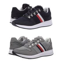 Tommy Hilfiger Women's Sport Athletic Lace-Up Fashion Fur Sneakers Shoes Riplee image 1