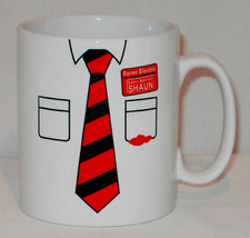 Shaun Of The Dead Shirt Mug Can Personalise Funny Zombie Movie Simon Peg... - $11.40