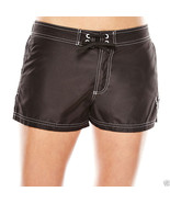ZeroXposur Woven Swim Board Shorts Black Liquorice Size 8 New Msrp $49.00 - $24.99