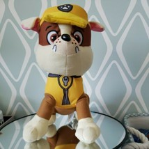 Nickelodeon Paw Patrol Plush Rubble Stuffed Plush Animal 11'' Toy - $29.69