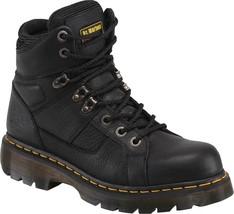 Womens Dr. Martens Ironbridge Work Boots - Black Leather, Mens 5/Womens 6 - $164.99