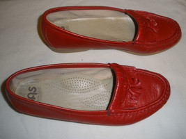 SAS    LEATHER COMFORT RED   WOMEN   SHOES  SIZE 5 - $25.73