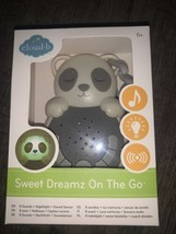 Cloud B Sweet Dreamz On The Go Travel Baby Sound & Music soother Panda Bear New - $24.50
