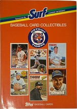 Game Day Promo Baseball Card Collectibles Detroit Tigers Surf Detergent ... - $4.99