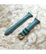 Light Blue Slim Leather Watch Band for Garmin Darth Vader and First Aven... - $25.99