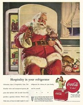1947 Coca Cola Santa Claus > Hospitality > Replica Vintage Style Poster/Ad - $1.99