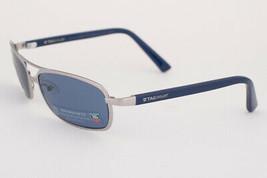 Tag Heuer Ayrton Senna 982 Silver / Watersport Blue Polarized Sunglasses 982 401 - $342.02