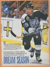 Tampa Bay Lightning Brian Bradley 1993 Pinup Photo 8x10 - $1.99