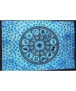 Traditional Jaipur Horoscope Astrology Tapestry, Indian Poster, Bohemian... - $15.67