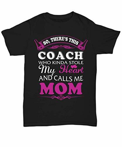 Coach Mom Shirt Funny Gifts for Women Mama Grandma T-Shirt on Mother's Day - Uni