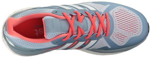 Adidas Womens Supernova ST Running Shoe Easy Blue White/Easy Coral BB3104