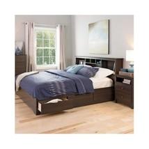 Platform Storage Bed King Size Drawers Frame Bo... - $519.99