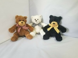 "Melissa & Doug Lifelike & Lovable Teddy Bear Plush Doll Sits 8"" Stuffed Animal - $19.99"