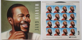 Marvin Gaye  2018 USPS 16 Forever Stamps Sheet - $11.95