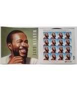 Marvin Gaye  2018 USPS 16 Forever Stamps Sheet - $11.95