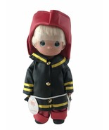 """Precious Moments Fireman Firefighter Boy To The Rescue 12"""" Vinyl Doll Co... - $37.36"""
