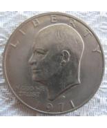1971 D Eisenhower Dollar - (sku# 4902) - $2.99