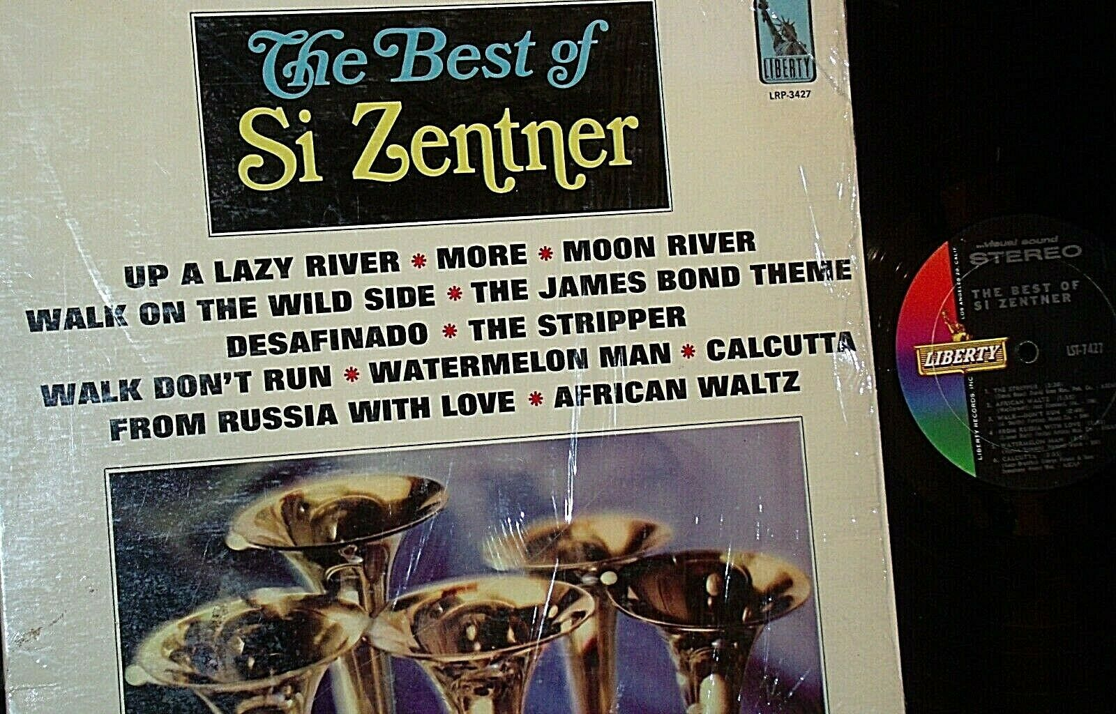 The Best of Si Zentner Record AA20-RC2103 Vintage