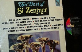 The Best of Si Zentner Record AA20-RC2103 Vintage image 1