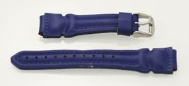 Fossil Men's Stainless Blue Rubber Neoprene Replacement Watch Band 18mm - $9.36
