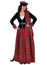 Scottish Lady - Longer Version    - sizes 6 - 22                     - $50.42