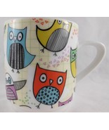 Colorful whimsical Creative Tops Owl Coffee Mug - $10.88