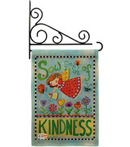 Sow Seeds of Kindness Burlap - Impressions Decorative Metal Fansy Wall Bracket G - $33.97