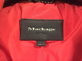 Mackage Women's Pink Down Coat Adali Lavish Fur Trim Hood Size XXS image 4