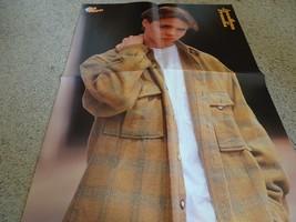 Jonathan Brandis teen magazine poster clipping looking sharp brown shirt... - $15.00