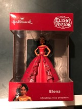 Hallmark Elena Of Avalor 2018 Red Christmas Ornament AA88 - $12.58