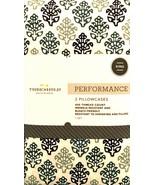 Threshold Pure Cotton Pillowcases 2 King Global Foulard Soft 400 Thread Ct - $17.82