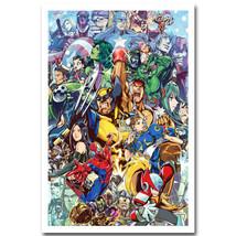 Marvel vs Capcom 3 Hot Fighting Game Poster Street Fighter  - $5.95+