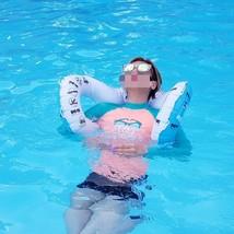 Herc Adult Shoulder Swim Ring Tube for Men Women (Blue) image 2