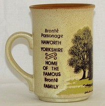 Yorkshire England Cup Mug Bronte Parsonage Collectible Ashdale Pottery ... - $24.70