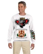 Men's Sweatshirt Conor Mcgregor Tattoos Inspired Cool Top - $24.94