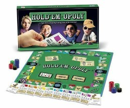 Hold'em-Opoly Board Game by Late for the Sky Two Favorite Games in One - $21.16
