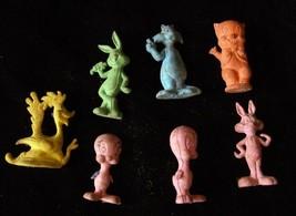Warner Bros. Looney Tunes Eraser Figures Road Runner Wile Sylvester Twee... - $18.99