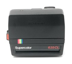 Polaroid Supercolor 635CL Instant 600 Film Camera 1980s Fully Operational 	 - $69.95