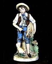 Vintage HOMCO 8881 Figurine of boy AA19-1427
