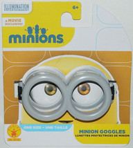 Minions Movie Minion Rubber Goggles One Size Fits Most NEW UNWORN - $8.79