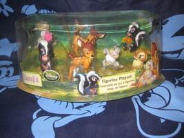 Disney Store Bambi Figurine Set Figures PlaySet Flower Thumper New - $24.74