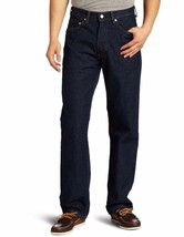 New Levi's Strauss 550 Men's Relaxed Fit Straight Leg Jeans Pants Rinse 550-0216