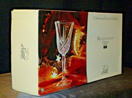 Collections Cristal d'Arques Masquerade Set of 4 Goblets AA19-CD0047 Vintage image 5